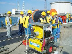 Hands on training of basic oil spill response equipment