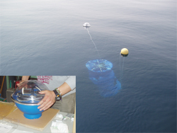 Drift experiment for ocean current survey