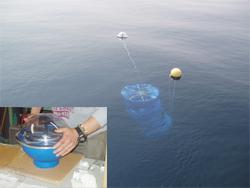 Drift experiment for ocean current survey